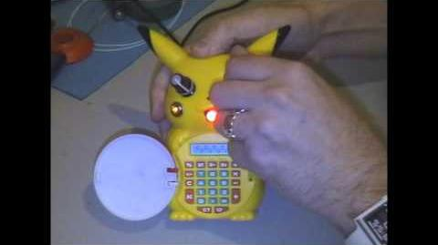 Circuit Bent Pikachu Talking Calculator by freeform delusion