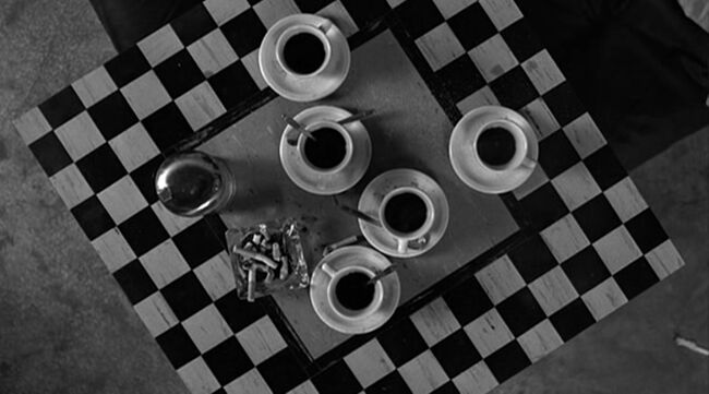 Coffee & Cigarettes - I drink a lot of coffee before I go to sleep so I can dream faster