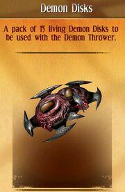 Demon disks