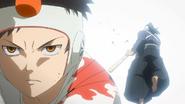 Sasuke in fight EP 12