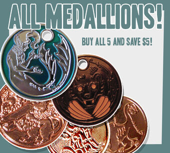 5 medallions