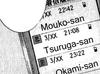 Kyoko's phone list