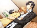 Ren hugs Kyoko
