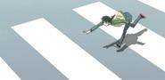 Kyoko tipping down dream star
