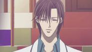 Ren tsuruga eyes closed