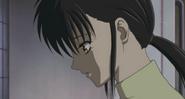 Kyoko making tea