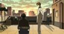 Ren and Yashiro at the taping