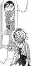 Okami-san checking on Sho and Kyoko