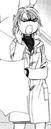 Kyoko on the hallway angry