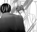 Cain and ren on the mirror