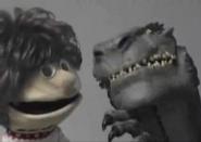Skippy Shorts and Dennis the Dinosaur