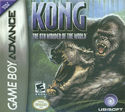 Kong - The 8th Wonder of the World Coverart