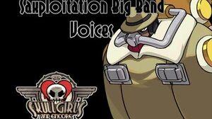 Skullgirls Saxploitation Big Band