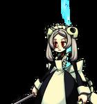 Marie 01 eyeshalfopen