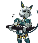 Robo keyboardcat
