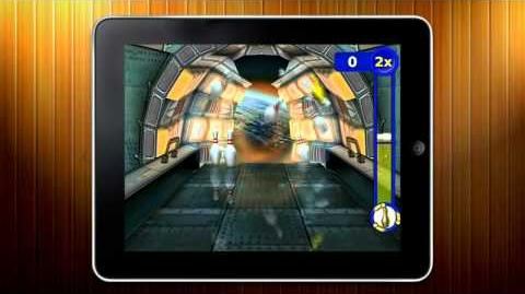 Gutterball Goldenpin Bowling Trailer for iPad