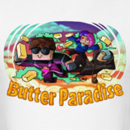 Men-s-t-shirt-butter-paradise design