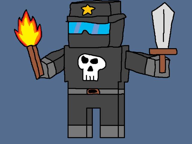 File:Death Trooper Minecraft Version.png