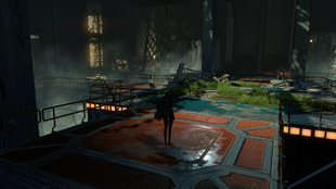 Skyforge Daren Facility entrance
