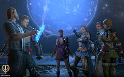 Player group in Skyforge