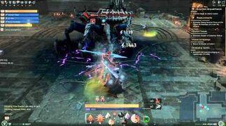 Skyforge Game play paladin Hespilon Temple