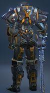 Heavy Power Armor Suit 05