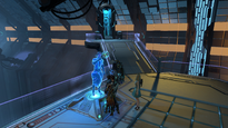 Skyforge NPC Flavius inside the Research Center