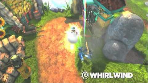 Skylanders Spyro's Adventure - Whirlwind Preview (Twists of Fury)