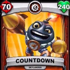 Carta de Countdown de Skylanders: Battlecast