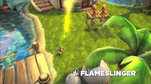 Meet the Skylanders Flameslinger (extended)