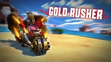 Skylanders SuperChargers - Gold Rusher Preview
