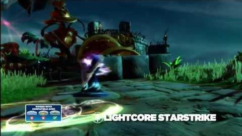 Meet the Skylanders LightCore Star Strike