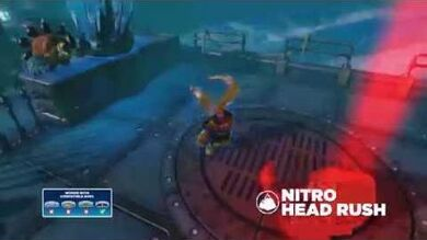 Meet the Skylanders Nitro Head Rush