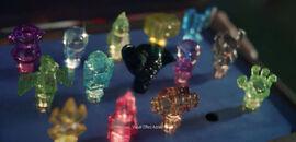 Traptanium Crystals