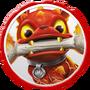 Fire Bone Hot Dog Icon