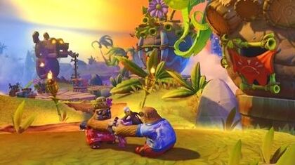 Skylanders Imaginators - Cursed Tiki Temple Introduction Scene