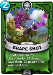 Grape Shotcard
