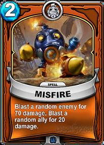 Misfirecard