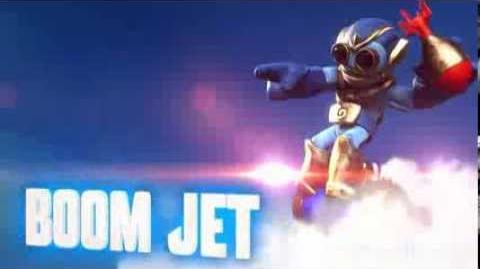 Skylanders Swap Force - Boom Jet Soul Gem Preview (Bombs Away)