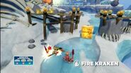 Skylanders Swap Force - Meet the Skylanders - Fire Kraken (Burn to be wild)