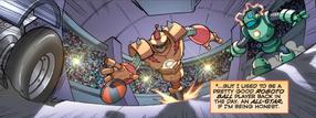 Bouncer Comic