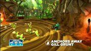 Skylanders Swap Force - Meet the Skylanders - Anchors Away Gill Grunt