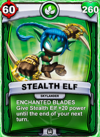 Enchanted Blades - Special Abilitycard