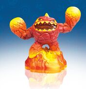LightCore Eruptor toy