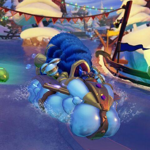 Soda Skimmer SuperCharged en el juego