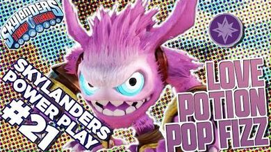 Skylanders Power Play- Love Potion Pop Fizz