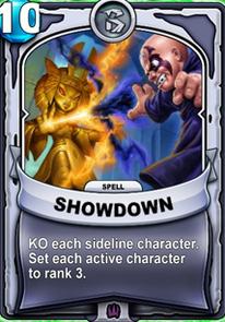 Showdowncard