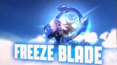 Skylanders Swap Force - Freeze Blade Soul Gem Preview (Keeping It Cool)