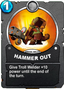 Hammer Out - Special Abilitycard