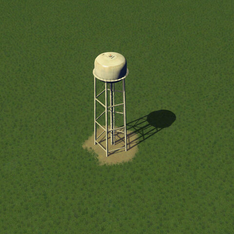 In-game water tower